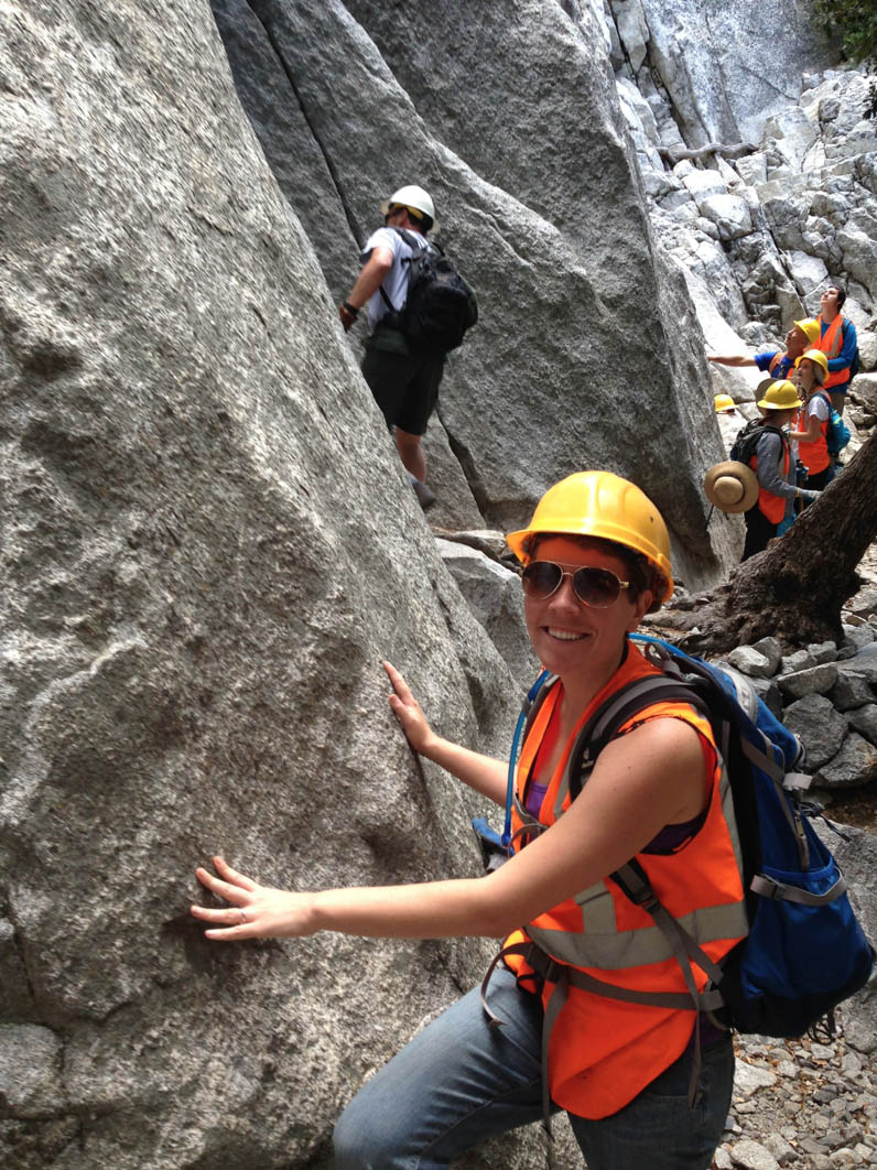Mandy France travels solo in Yosemite