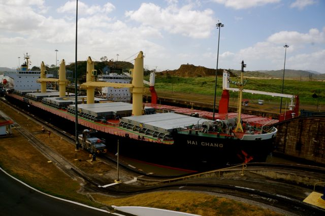 panama canal ship. Learn more with 10 fascinating facts about the Panama Canal.