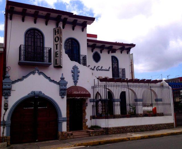 exterior san jose costa rica hotel colonial