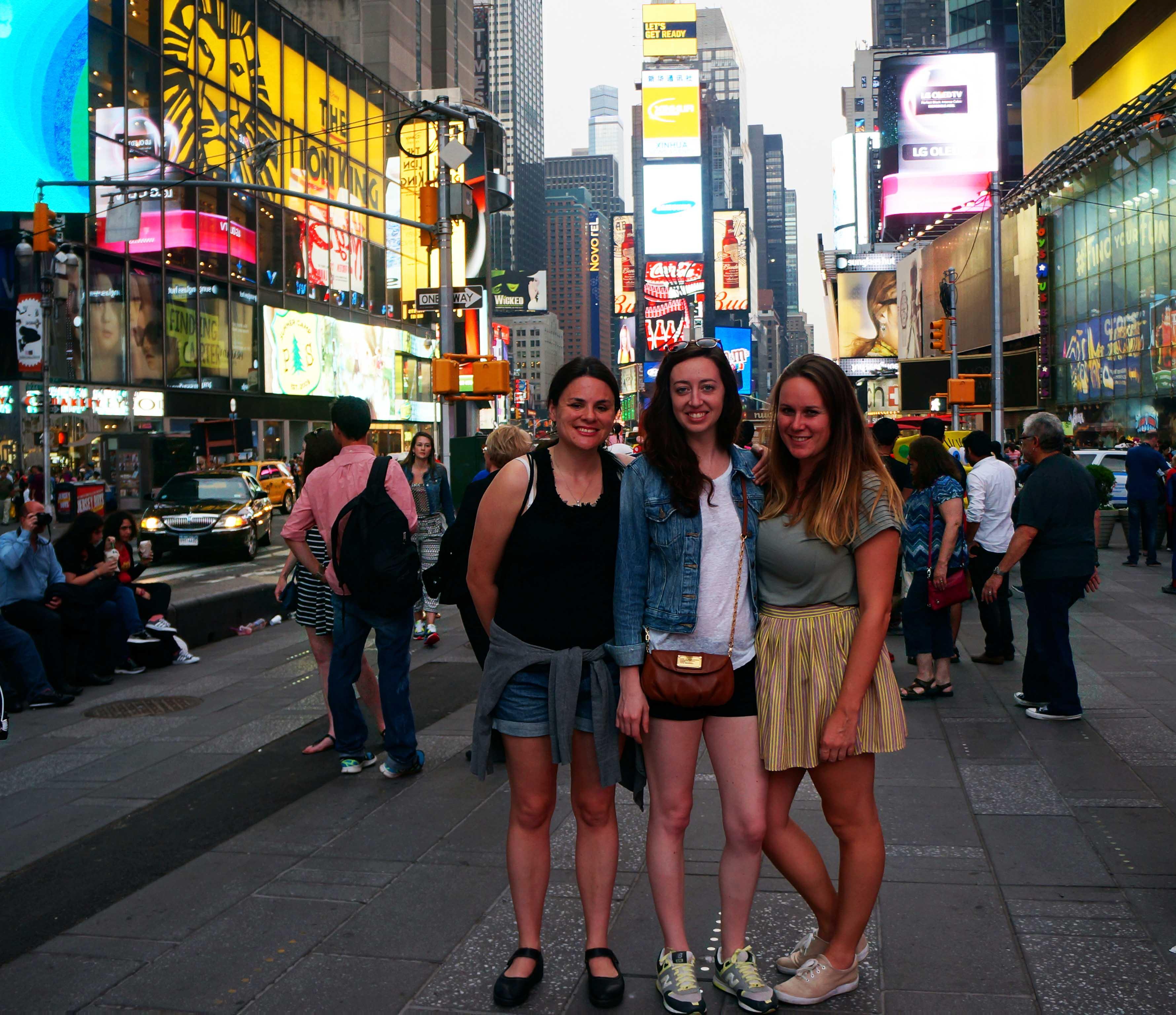 Girlfriend Getaway to New York City