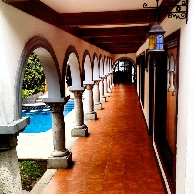 hallway san jose costa rica hotel colonial
