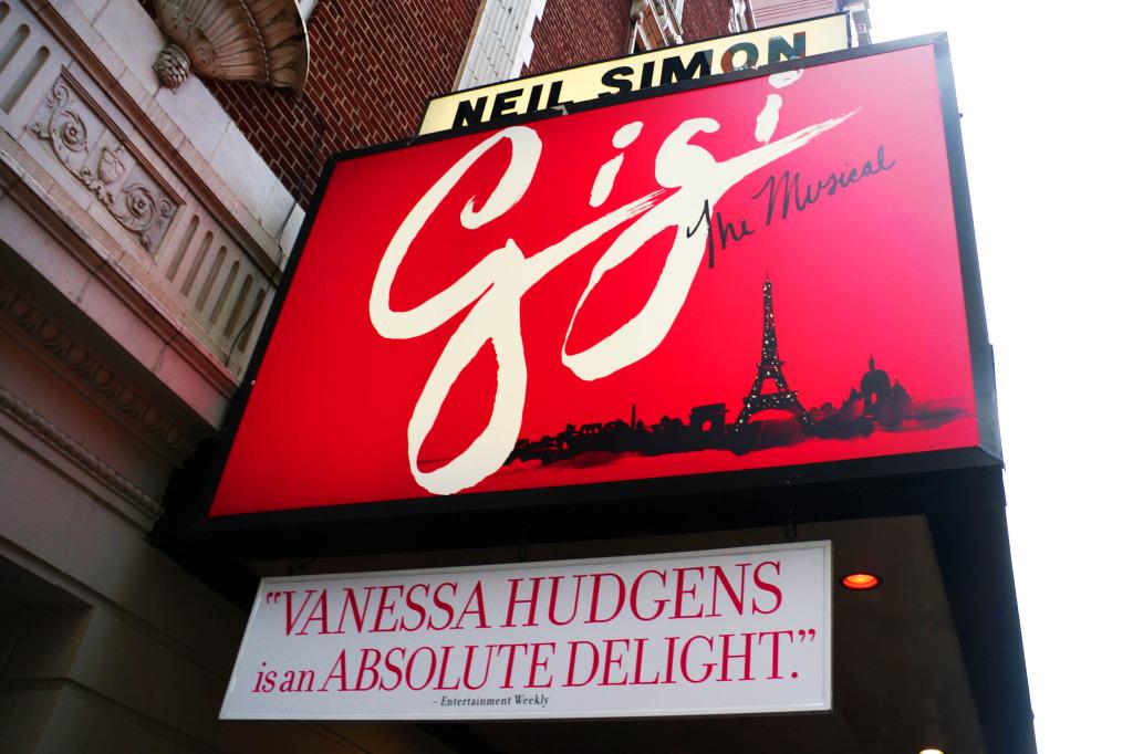 review gigi on broadway neil simon theater