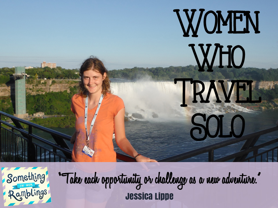 women who travel solo Jessica Lippee solo trip to Niagara Falls