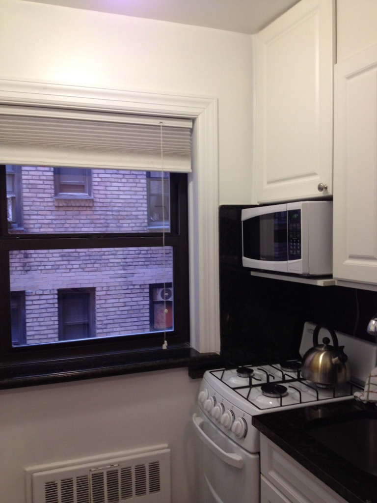 apartment rental new york city kitchen
