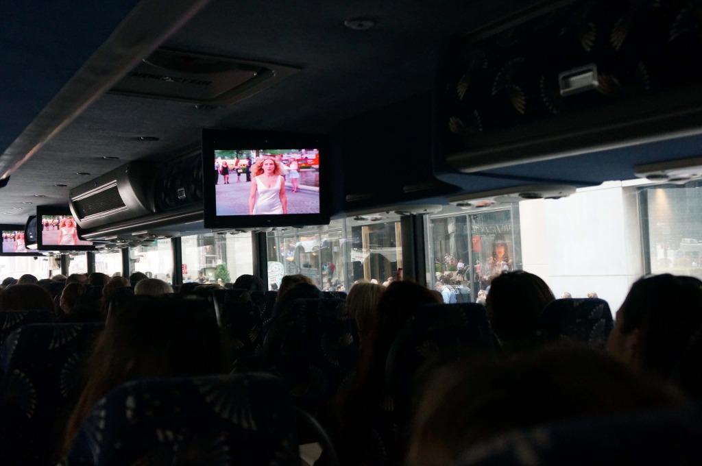 sex and the city hotspots tour bus