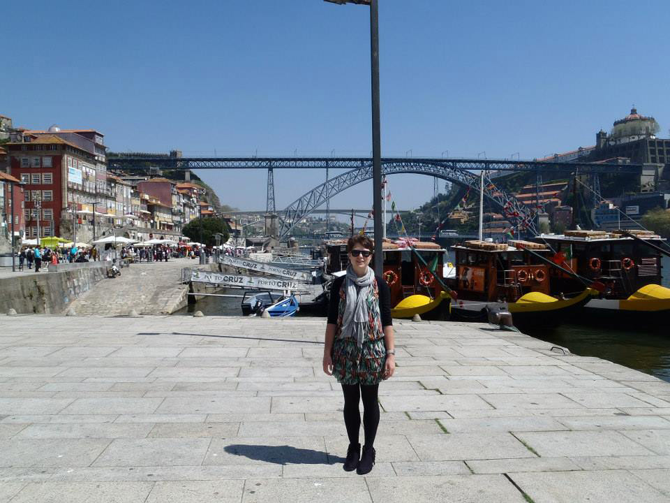 traveling in Europe lead Veronica to WWOOF in France