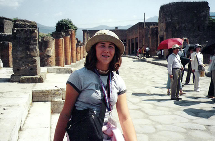 veronica got her start traveling at age 13 which lead her to later WWOOF in France