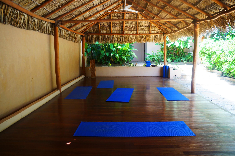 Casa Lucia hotel in Granada yoga studio