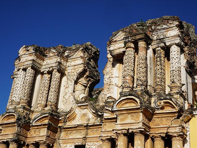 antigua guatemala photos church ruins