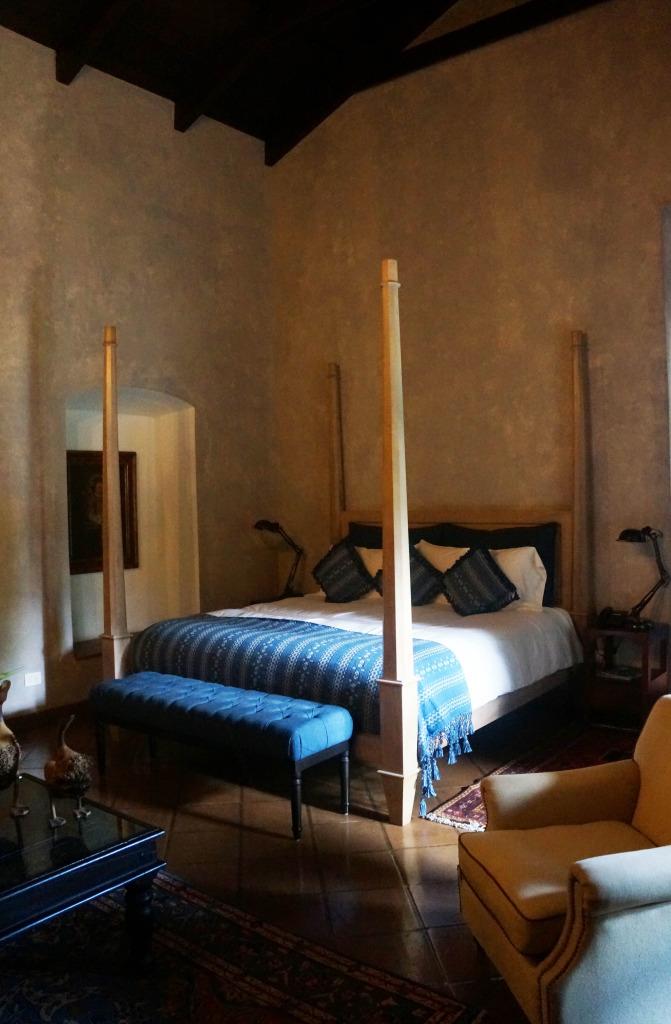 bedroom where to stay in antigua guatemala hotel san rafael