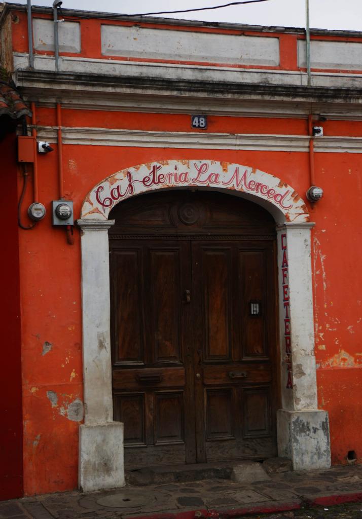 cafeteria la merced photos of antigua guatemala