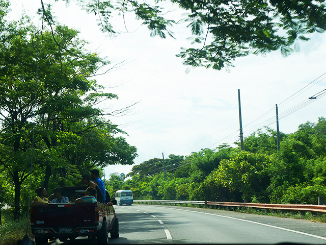 el salvador road