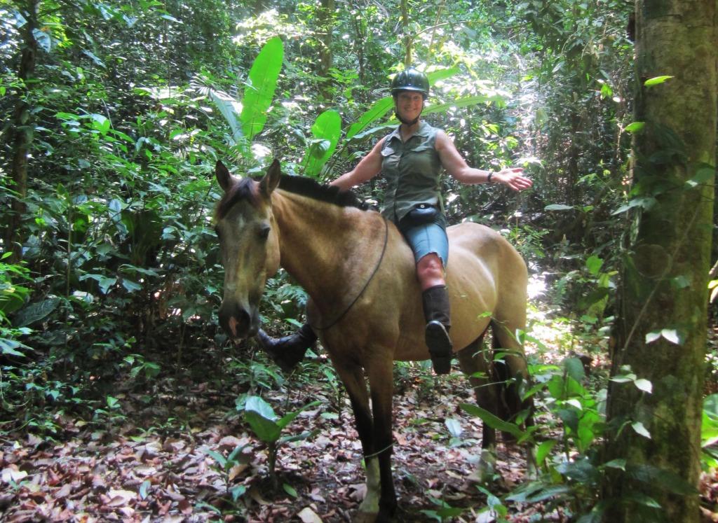horseback riding vacations in costa rica jungle