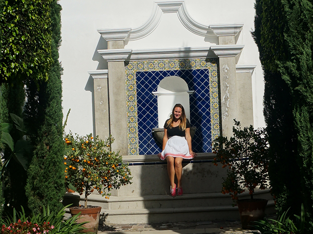 lauren in the garden where to stay in antigua guatemala hotel san rafael