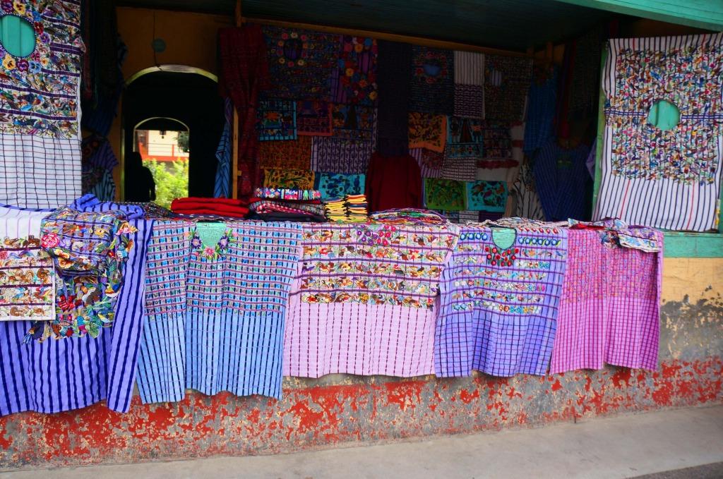 mayan clothing on a day tour to lake atitlan