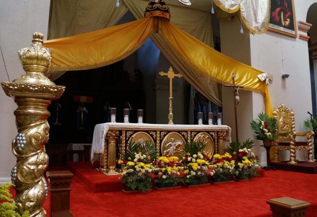 santiago church on a day tour to lake atitlan