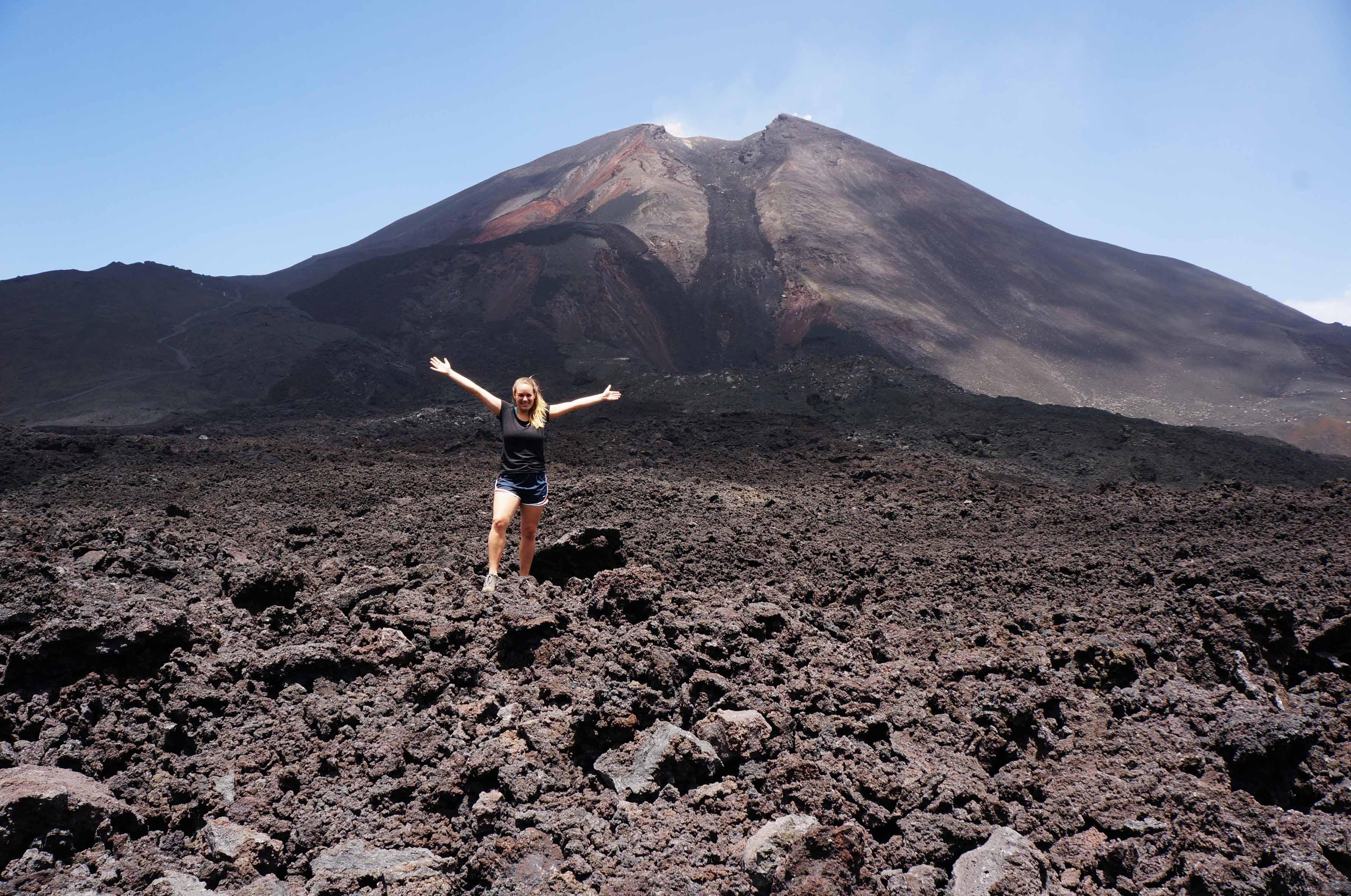 Climbing Pacaya Volcano with Guatemalan Adventures