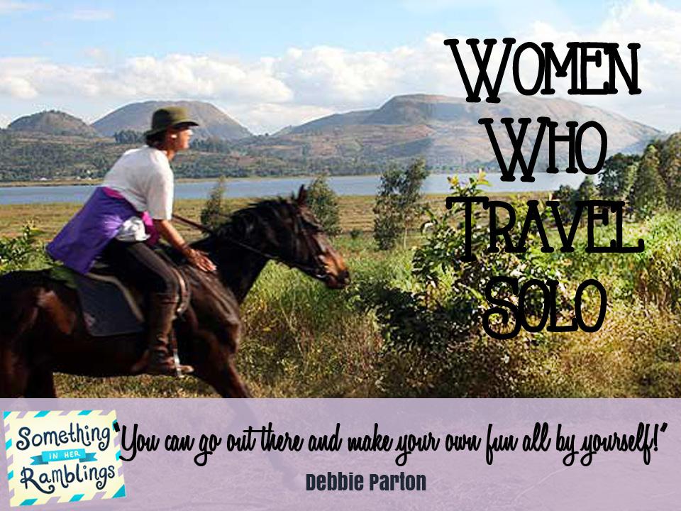 women who travel solo debbie parton