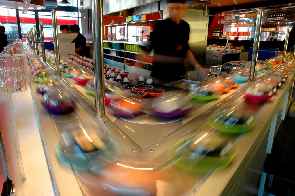 Best Places to Dine Solo in the UK YO Sushi