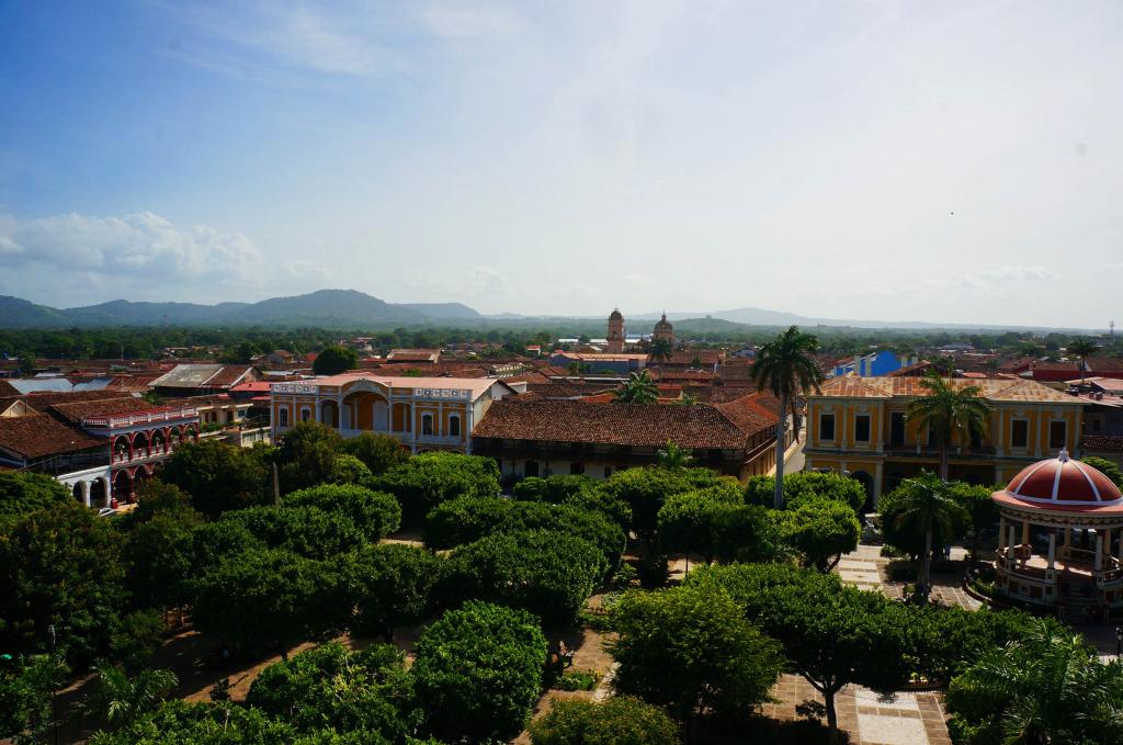 Granada Nicaragua in photos Granada birds eye view