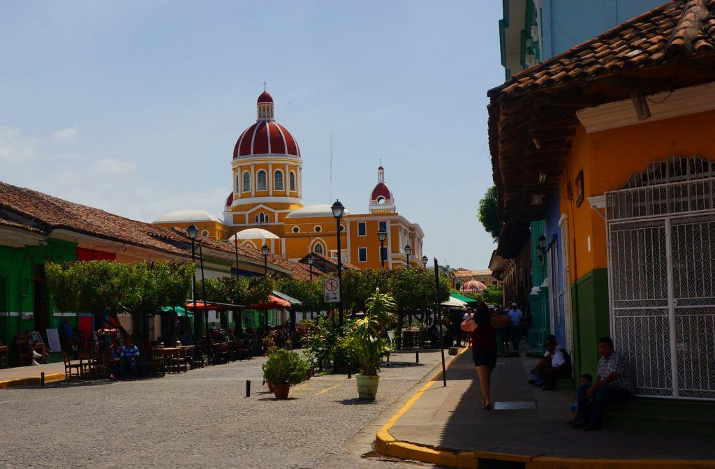 Granada Nicaragua in photos main street