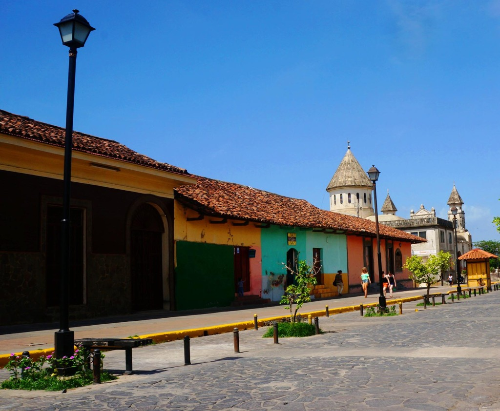 Granada Nicaragua in photos street view