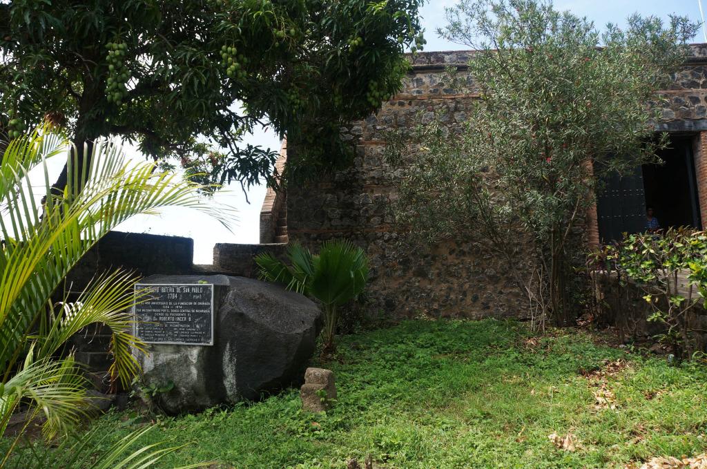 Lake Nicaragua spanish fort