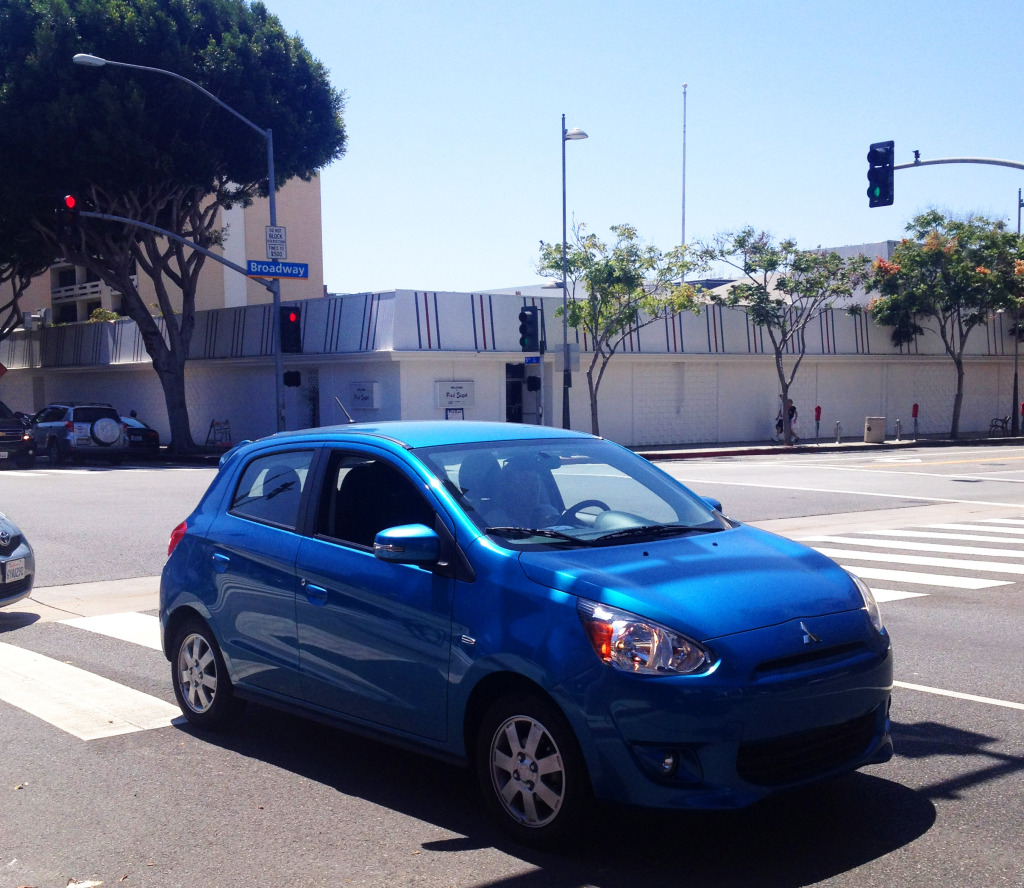 best car for city driving 2015 mitsubishi mirage