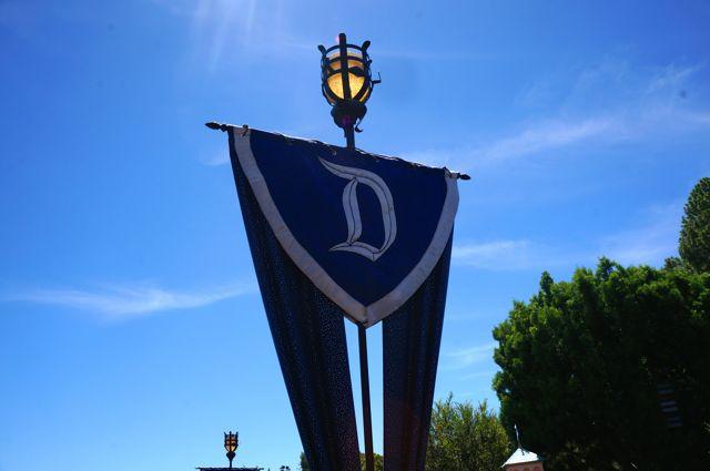 celebrate disneyland 60th anniversary in photos diamond banners