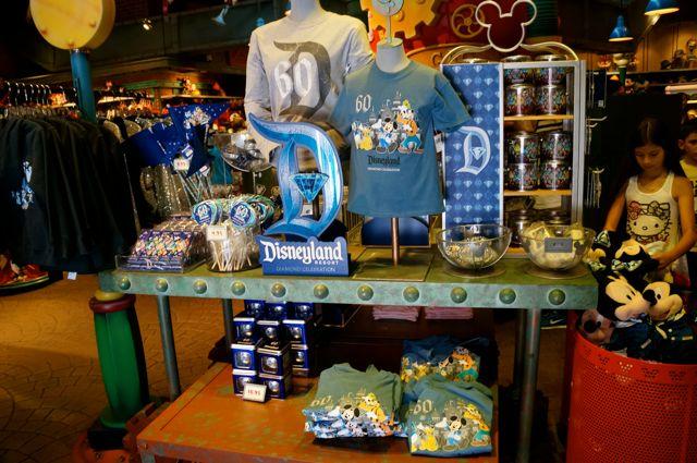 celebrate disneyland 60th anniversary in photos diamond celebration merchandise
