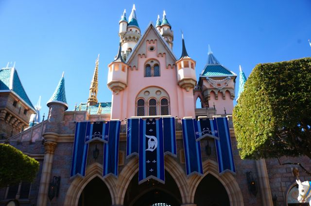 celebrating disneyland 60th anniversary in photos castle back