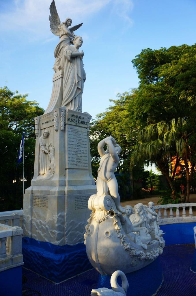 unusual sights managua nicaragua poet