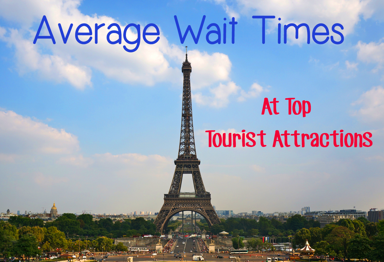 Average Wait Times at Top Tourist Attractions