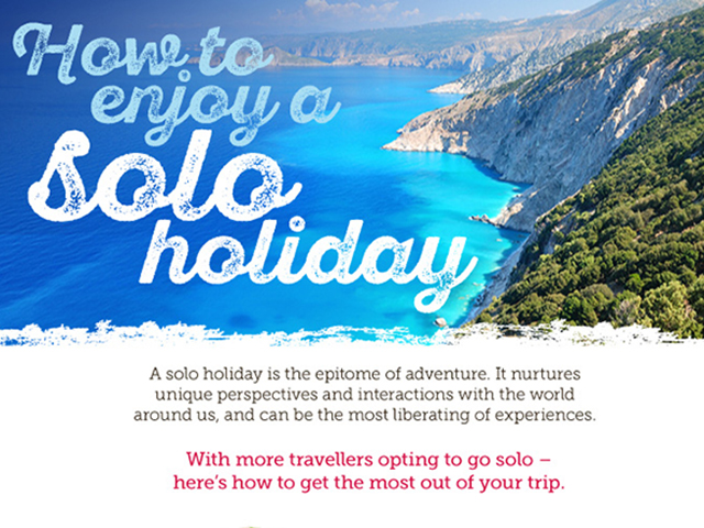 How to Enjoy a Solo Vacation: Infographic