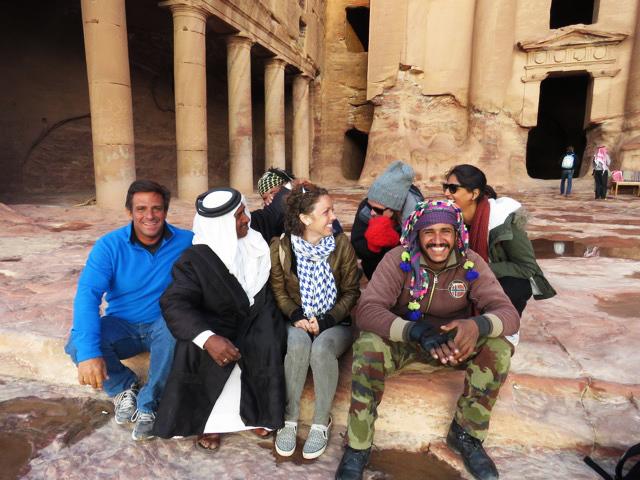 Solo travel Making Friends Petra Jordan