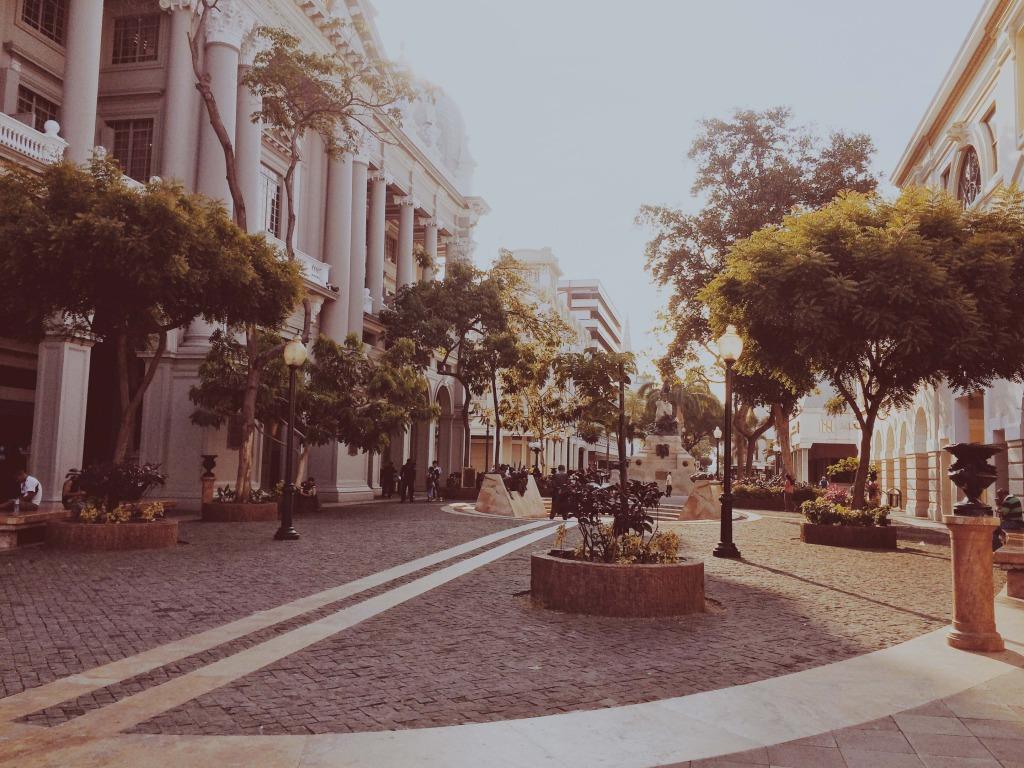 solo travel in ecuador city views