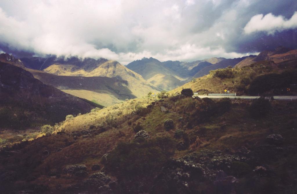 solo travel in ecuador landscape