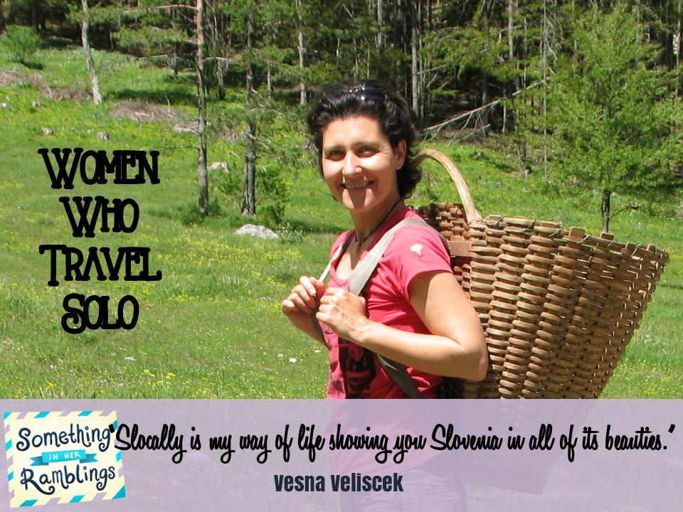 women who travel solo Vesna V