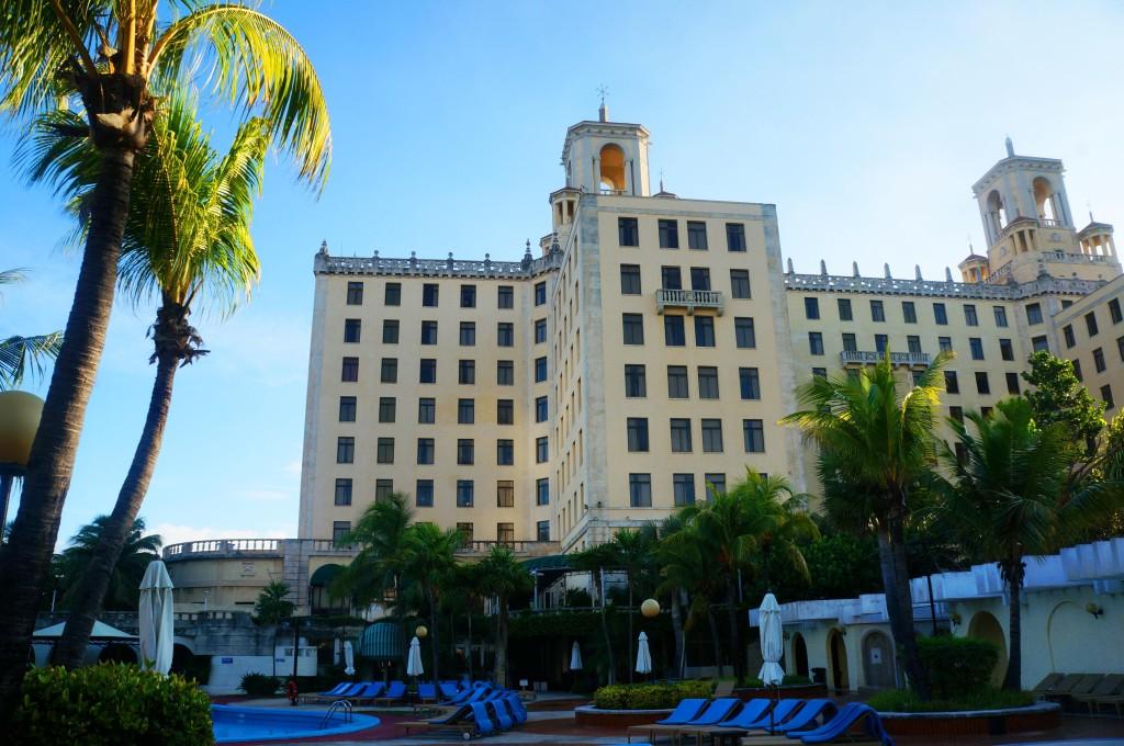 hotel nacional de cuba history- pool view