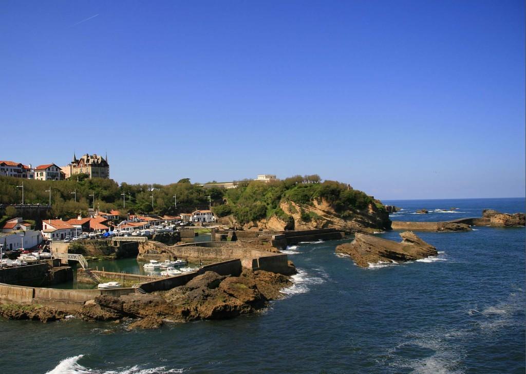 glamorous destinations Biarritz