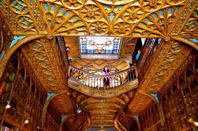 oporto europe's hidden treasure- harry potter library