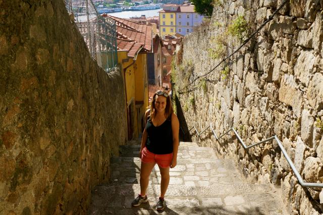 oporto portugal medieval streets