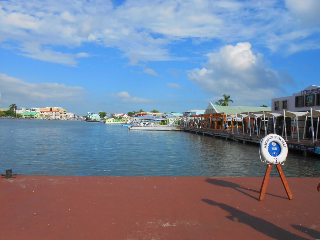visit belize on a solo cruise