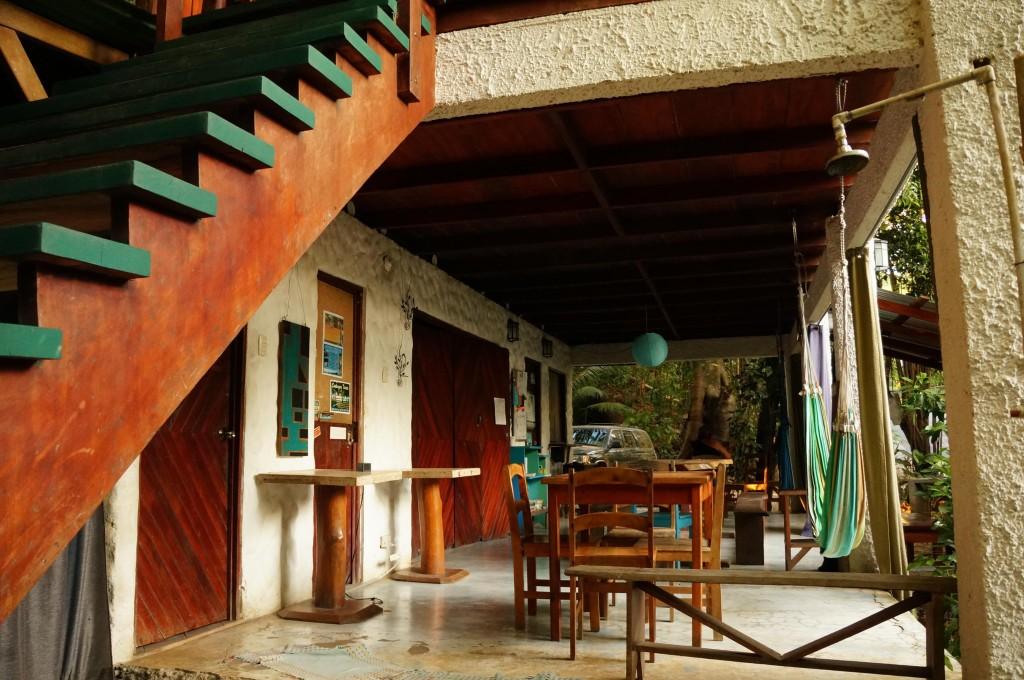 common area at luz en el cielo hotel in montezuma