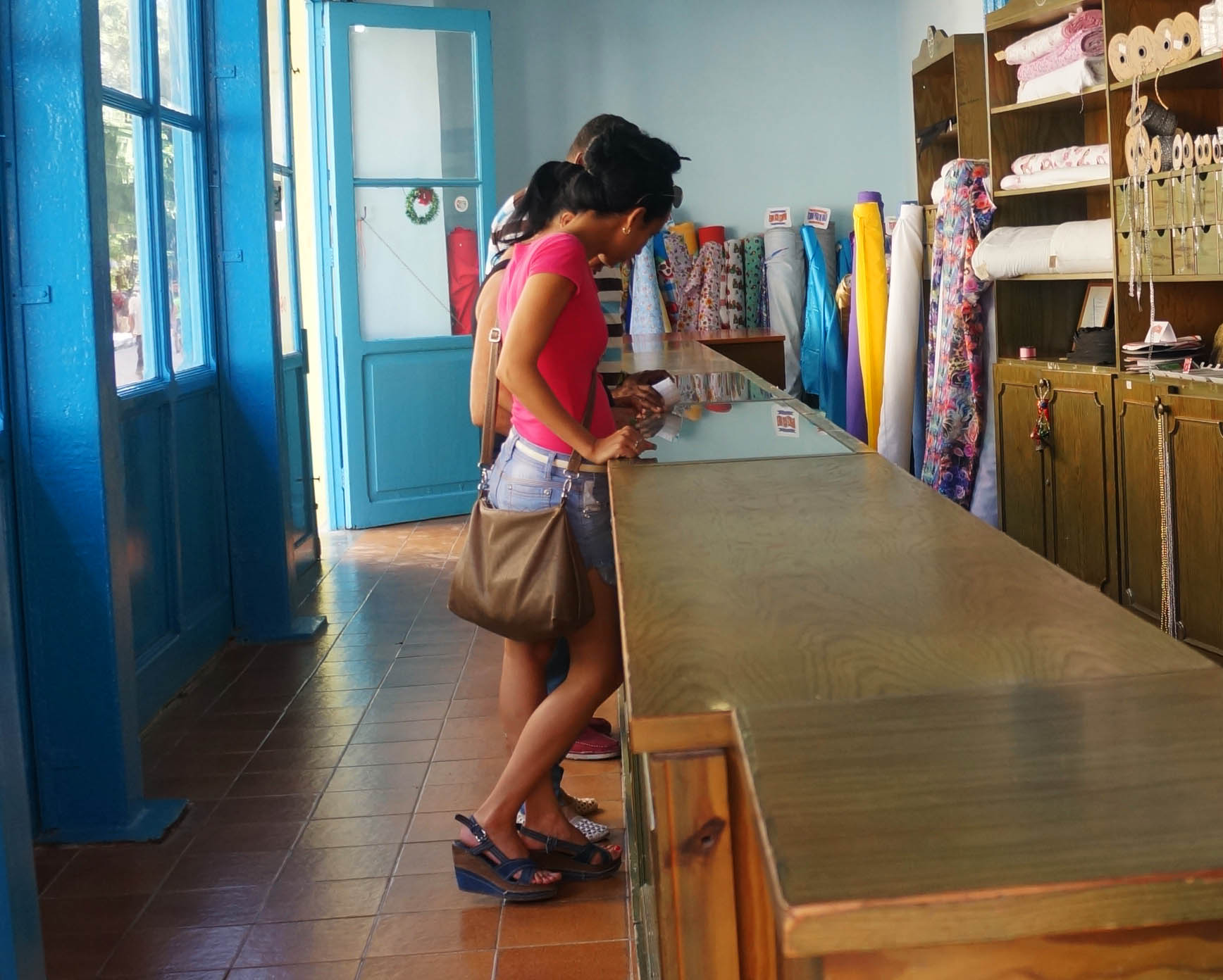 The Story of a Red Dress in Cuba