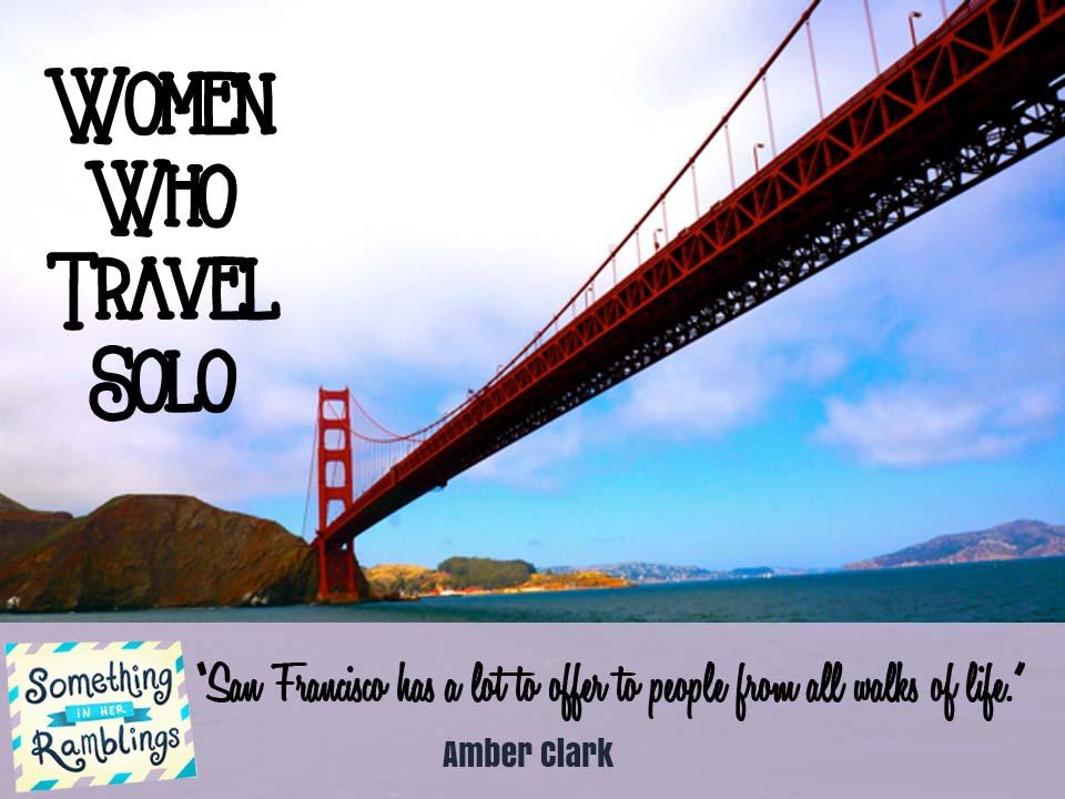women who travel solo amber clark