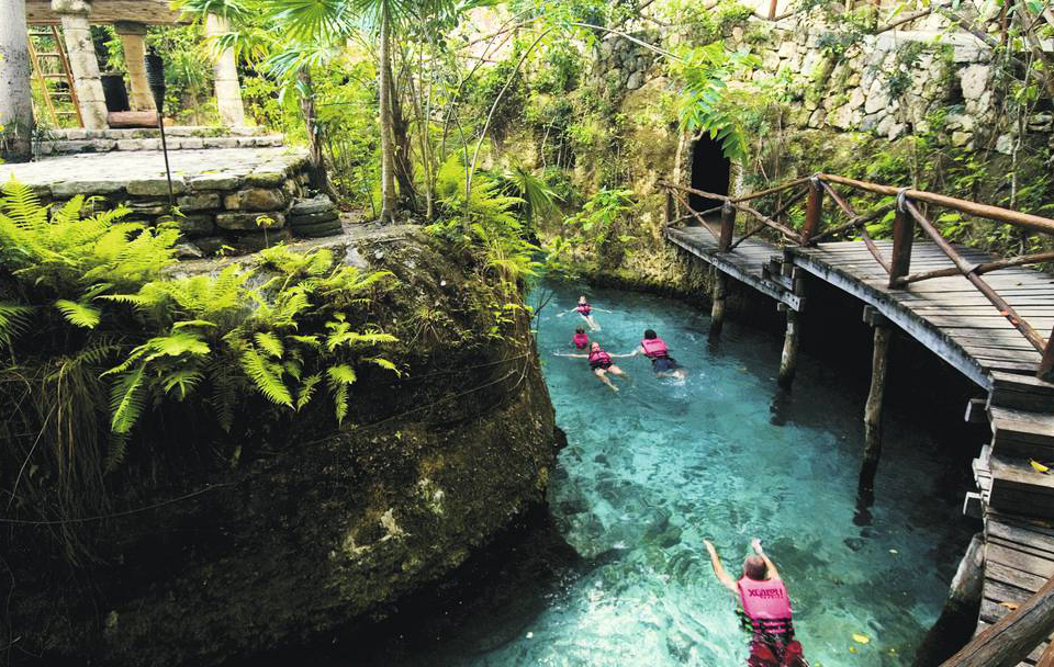 jungle adventure on a mexico holiday