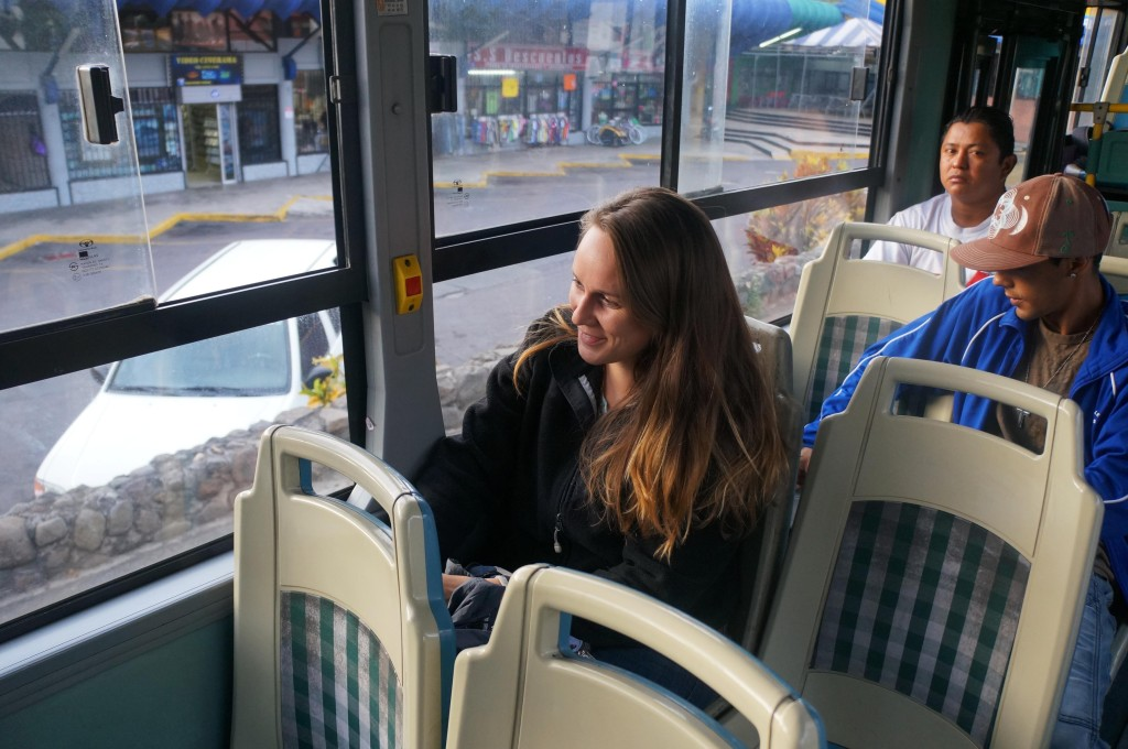 scenes from my life in costa rica as an expat- bus