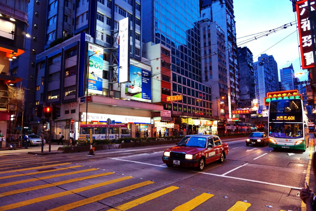 solo travel in hong kong city lights