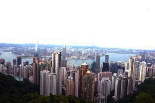 solo travel in hong kong city views